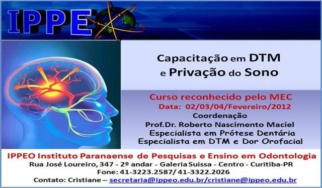 Curso DTM y Privación del Sueño.Dr Maciel